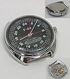 Russian Mechanical watch 24 hr dial (#0578) WWII Soviet tank T-34