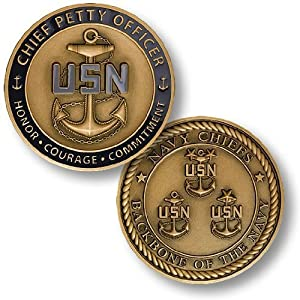 Chief Petty Officer - Navy Chiefs Challenge Coin