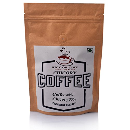 Nick of Time Chicory Blend Coffee 65:35 - South Indian Filter Coffee