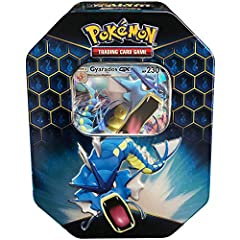Can you harness the raw power of a Pokémon? Choose the blazing fire of Charizard-GX, the raging waves of gyarados-gx, or the crackling electricity of raichu-gx in the Pokémon Trading Card Game: hidden fates tin. Each of these fantastic tins c...