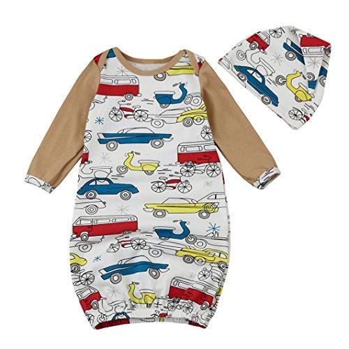 sharemen-newborn-baby-boys-girls-printing-long-sleeve-tops-hat-outfits-6-9-months-white