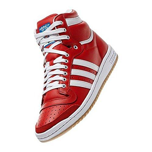 Adidas Top ten HI D65163 - Rouge - 42 2/3 EU