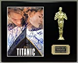 Titanic Cast Signed Reproduction Autographed 8 x 10 Photo LTD Edition Oscar Movie Display