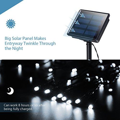 Outside String Lights Not Working : Litom Solar Outdoor 200 LED String Lights 72.18 ft Solar - Import It All