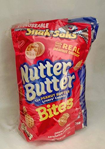 Kids Snack Bundle-3 Items: Snak-Saks Barnum's Animal Crackers 8oz, Snak-Saks Oreo Mini Cookies 8oz and Snak-Saks Nutter Butter Bites ()