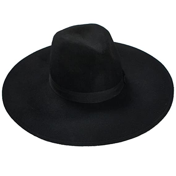Killstar Women s Fedora Hat Black Black  Amazon.co.uk  Clothing 59c07c8da7c
