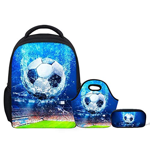 Boys W1975F School Bags Foot W1975fkz20 3Pcs Set Ball AwFtHq