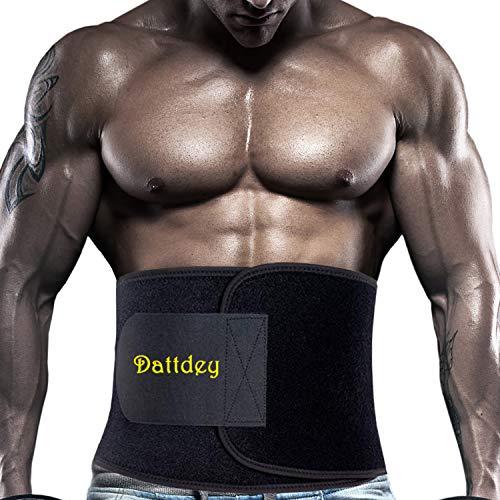 Dattdey Waist Trimmer Belt Wraps Waist,Waist Trainer,Fitness Waist Sweat,Obest Waist Trainer for Women,Waist Belt Exercise,Waist Trainers Workout,Women Sweat Belt (Large)