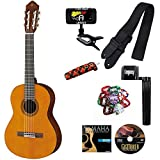 Yamaha CGS102AII 1/2 Size Classical Acoustic Guitar Bundle w/Legacy Kit (Tuner, Picks and Much More)