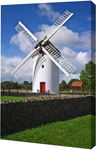 ireland-elphin-the-elphin-windmill-by-dennis-flaherty-8-x-12-gallery-wrapped-giclee-canvas-art-print
