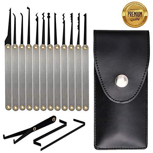 Stainless Steel Multitool Lock Set 15Pcs