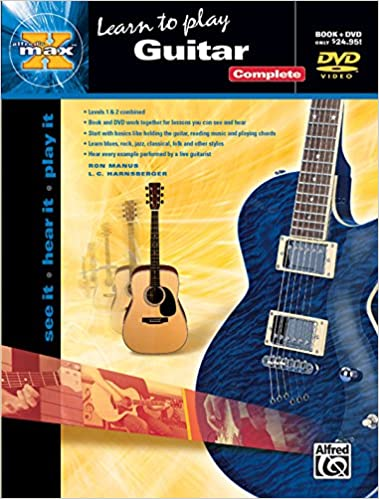 alfreds max tab guitar complete see it hear it play it book dvd sleeve alfreds max series