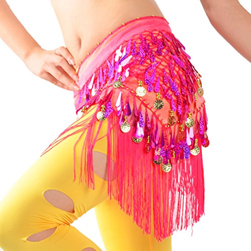 WZT Belly Dancing Colorful Waist