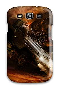 New Snap-on DPatrick Skin Case Cover Compatible With Galaxy S3- Destroyed Cars