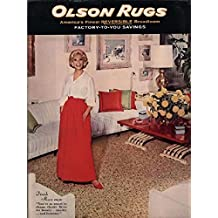 Olson Rugs (1963): America's Finest Reversible Broadloom Factory-To-You Savings