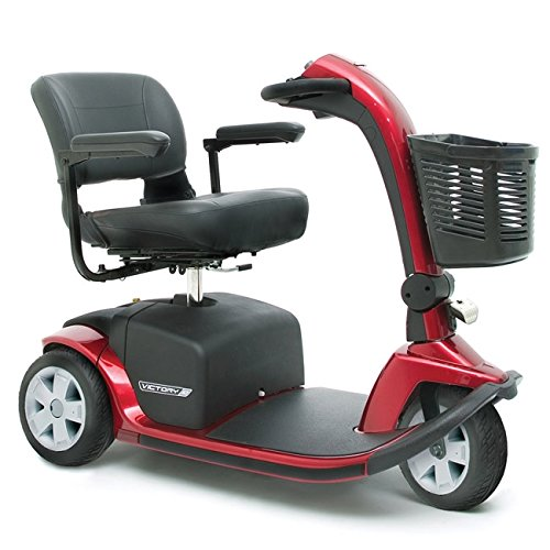 Pride Mobility - Victory 10 - Full-Sized Scooter - 3-Wheel - Viper Blue