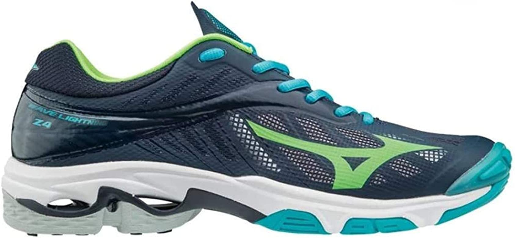 Mizuno Wave Lightning Z4 blauw indoor schoenen heren: Amazon.es: Ropa y accesorios