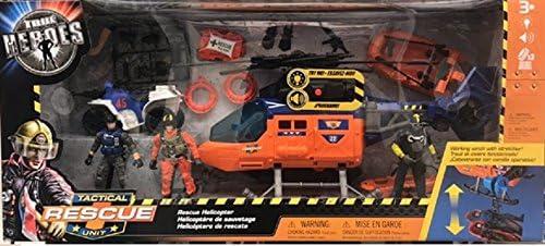 Helicóptero táctico de Rescate True Heroes: Amazon.es: Juguetes y juegos