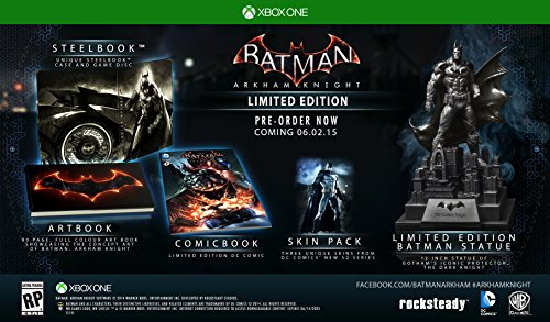 - Batman: Arkham Knight - Limited Edition - Xbox One