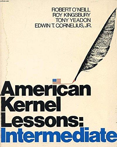 - American Kernel Lessons Intermediate Student Book (Longman American English)