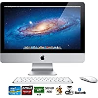 Apple iMac MC309LL/A 21.5-Inch 500GB HDD Desktop - (Certified Refurbished)