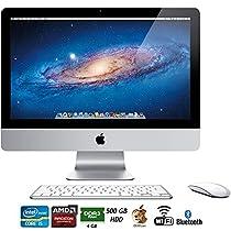Apple iMac MC309LL/A 21.5-Inch 500GB HDD Desktop - (Certified Refurbished)