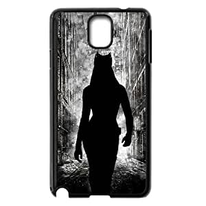 Samsung Galaxy Note 3 Cell Phone Case Black Catwoman rik