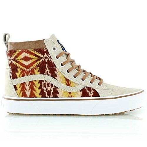 447bf4d714 Vans Unisex Sk8-Hi MTE Pendleton Tribal Tan Skate Shoe 10 Men US   11.5  Women US (B00VJ3RRKS)