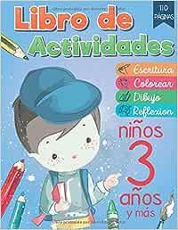 Libro de Actividades Niños 3 Años: Libro para aprender las