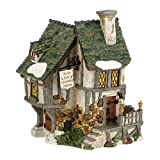 Department 56 Dickens' Village Six Jolly Fellowship Porters Lit House, 6.9 inch