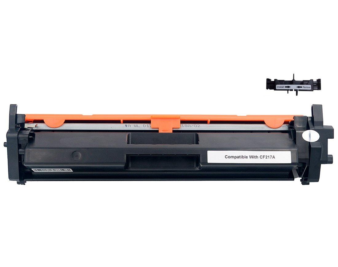 Zoomtec compatible avec hp 17a cf217a cartouche de toner laser noir