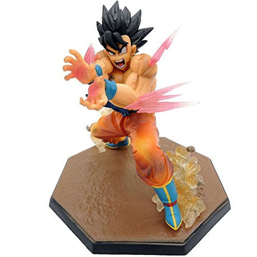 [15cm Anime Best Action PVC Collectible Cool Action Figures From popular Anime Perfect dolls] (Super Saiyan Goku Wig)