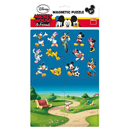 Dino Toys 658653 Mickey and Friends Motif Magnetic Jigsaws Puzzle