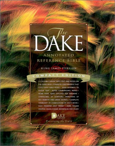 Download Compact Dake Annotated Reference Bible-KJV PDF