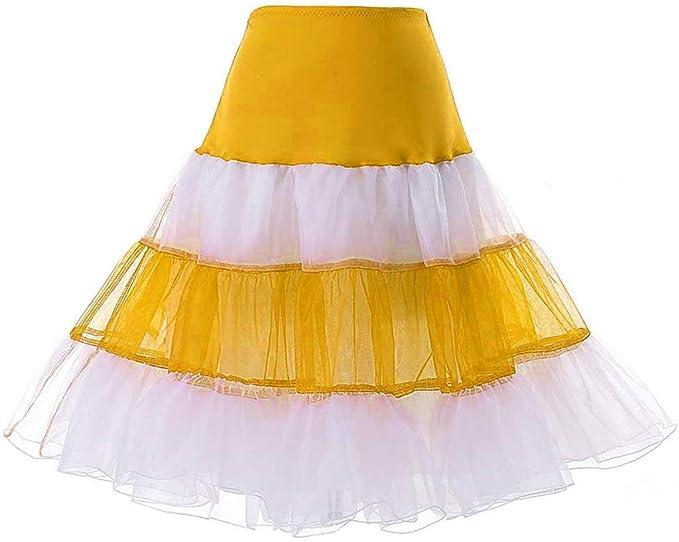 Goosuny - Falda de Tul para Mujer, para Carnaval, Falda de Tul ...