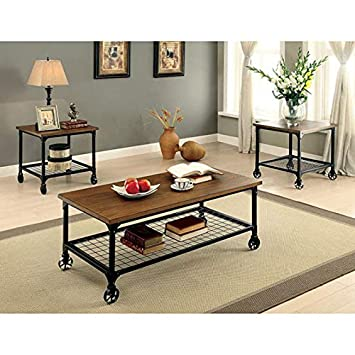 Transitional Coffee Table Sets 6