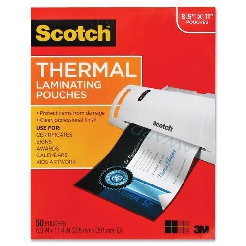 TP385450 Scotch Thermal Laminating Pouch - Letter - 8.50