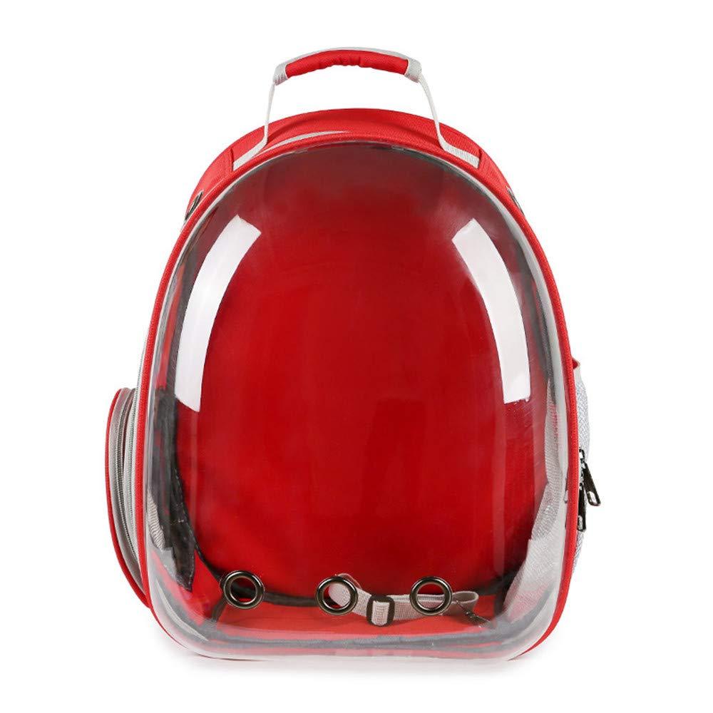 JFRI Dog Pet bag transparent out portable dog bag cat with breathable backpack cat bag