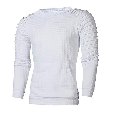 Longue Automne Itisme Chaud Homme Shirt Sweat Hiver Manche Top FTJ3lK1c