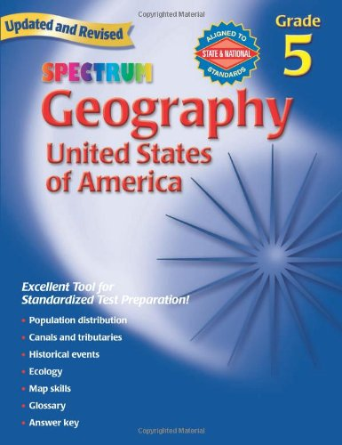 Amazon.com: Geography, Grade 5: The United States of America ...