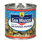 Empacadora San Marcos Nacho Jalapeno Peppers, 11-Ounce Cans (Pack of 12)