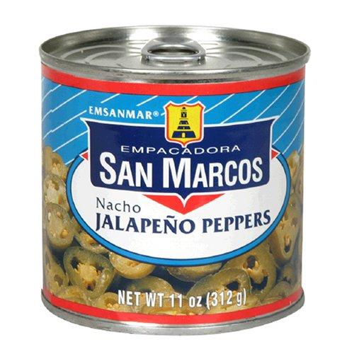 Nacho Jalapeno Peppers (Empacadora San Marcos Nacho Jalapeno Peppers, 11-Ounce Cans (Pack of 12))