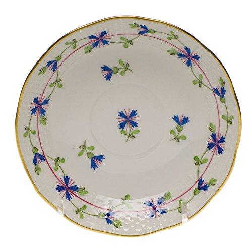 Herend Blue Garland After Dinner Saucer (Blue Garland Dinner Plate)