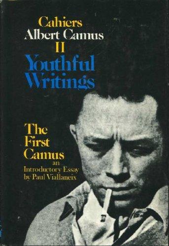 Youthful Writings Albert Camus