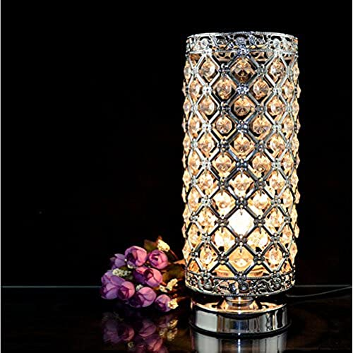 Crystal Silver Table Lamp - Small Crystal Table Lamps: Amazon.com