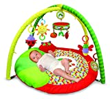 The World of Eric Carle, The Very Hungry Caterpillar Plush Activity Gym & Rotating Musical Mobile, 34''