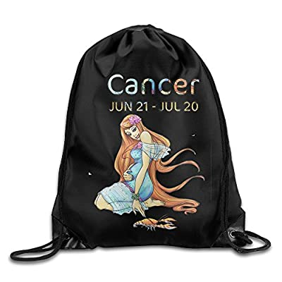 Cancer Horoscope Zodiac Definition 2016 Sports Shoulders Drawstring Backpack