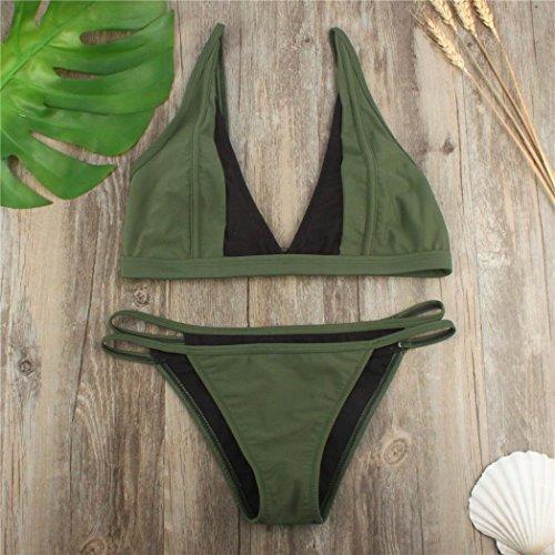 2f07c116d1e3ce Strandkleider Schmetterling Badeanzug Grün Bikini﹛split Sommer ...