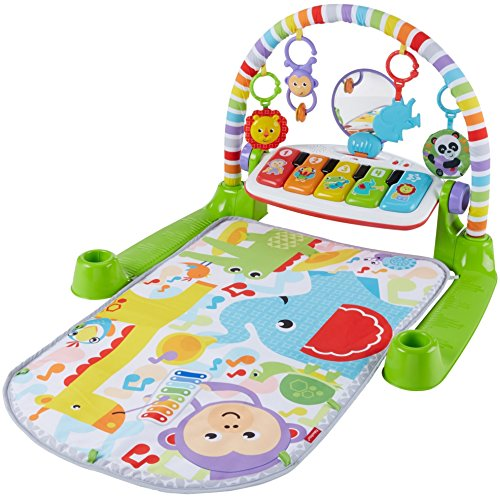 51JP5aERnzL - Fisher-Price Deluxe Kick 'n Play Piano Gym
