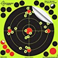 Splatterburst Targets 8 Inch Stick And Splatter Adhesive Shooting Targets 25 Pack